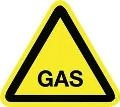 Afbeelding GAS PICTOGRAM STICKER 20